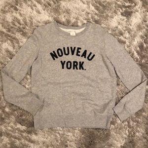 Nouveau York Sweatshirt - size XS